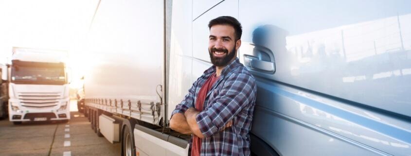 trucker by truck